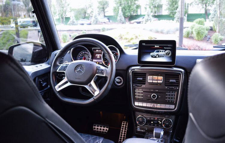 Interieur Mercedes Benz Hybride
