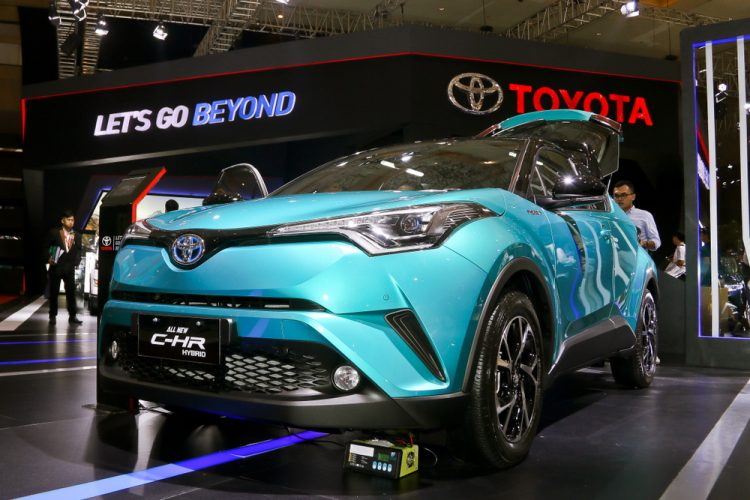 Toyota C-HR Électrique