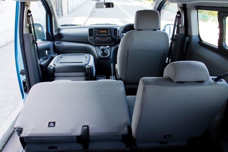 Interieur Nissan Hybride E-NV200